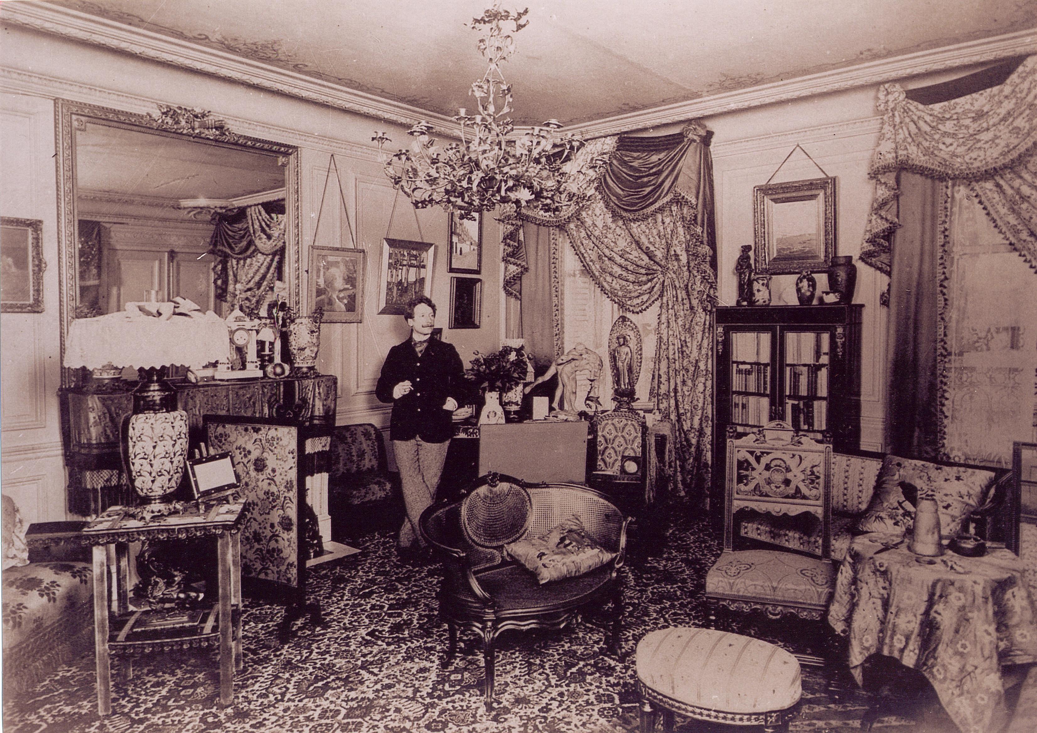La maison paternelle - Georges Rodenbach Rodenbach-%C3%A0-Paris